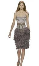 BCBG MAX AZRIA RUNWAY Dress Size: 2 NEW Satin Corset Organza Petals FREE... - $349.00