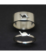 Dinosaur Promise Ring for Couples - $83.00