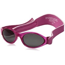 Baby Banz Girl's ABBPI Oval Sunglasses, Pink  - $26.00