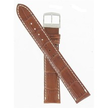 Citizen 18mm Brown Alligator Grain Long Length Eco-Drive Watch Band 59-S... - $32.00