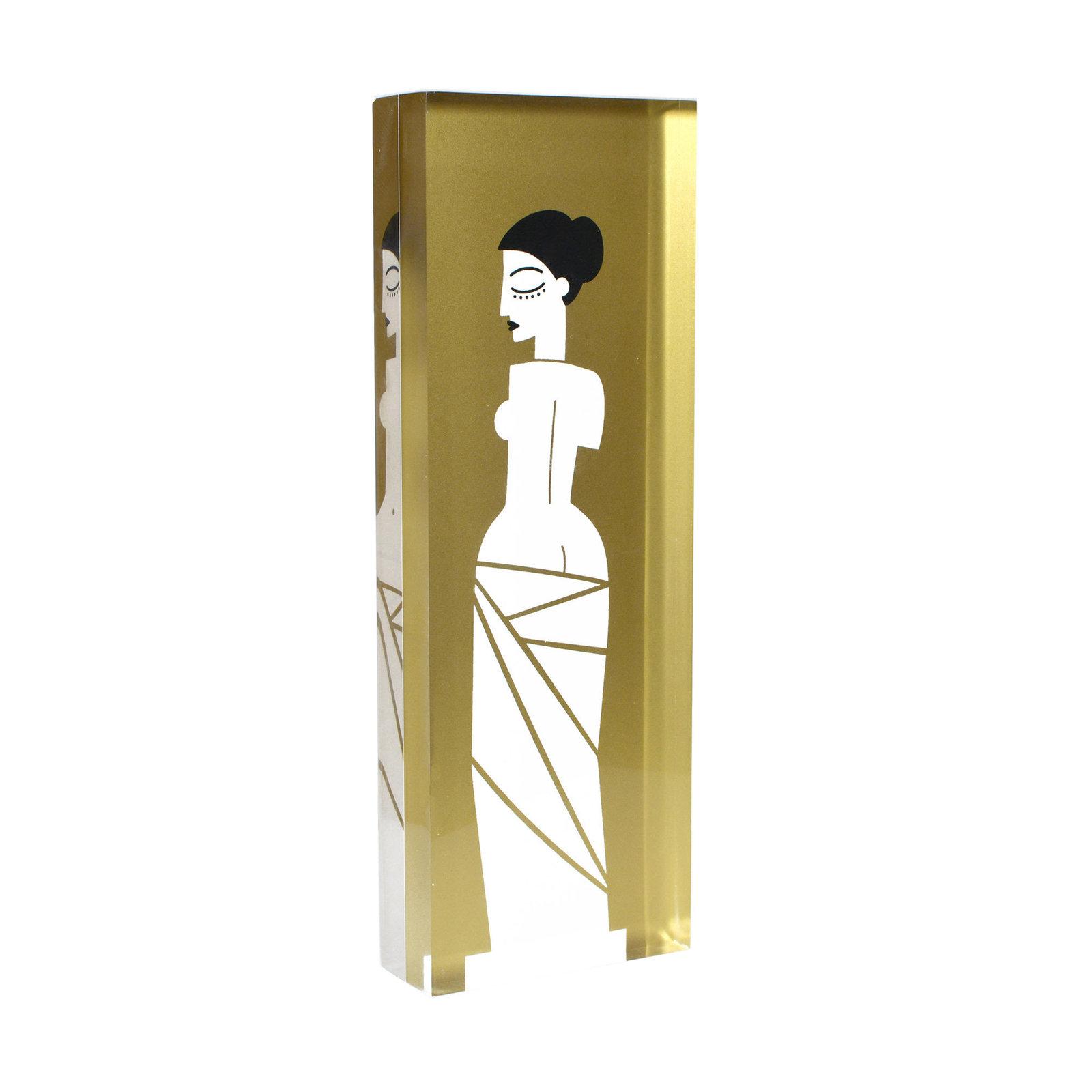 GRACIOUS GREECE Aphrodite Gold Design Object Greek Statue Home Decor - $100.00