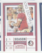 2017 Panini Contender Jameis Winston Draft Picks #45  192708 - $1.86