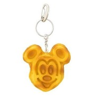 Disney Parks Mickey Mouse Waffle Keychain New with Tags - $12.93