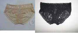 DKNY Intimates Signature Lace Bikini 543000 PANTY SHINNY DIP S, BLACK M - $8.00