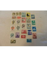 Lot of 26 Hungary Stamps, 1946, 1957, 1959 Postal Workers, Red Cross, Kn... - $18.56