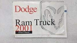 2001 Dodge Ram 1500 Owners Manual 53160 - $23.27