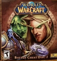 World of WarCraft Battle Chest Disc 2 PC Blizzard Entertainment 2007 Sealed NEW - $10.00