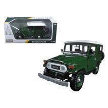 Toyota FJ40 Green 1/24 Diecast Model Car by Motormax - $39.24