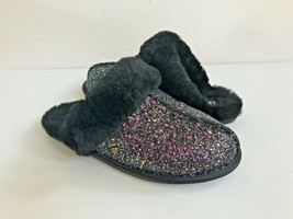 Ugg Scuffette Ii Cosmos Sparkle Black Shearling Slippers Us 6 / Eu 37 / Uk 4 - $88.83