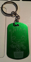 Plate Keychain/Necklace 50*30 Grut Guardians of the Galaxy - $4.32