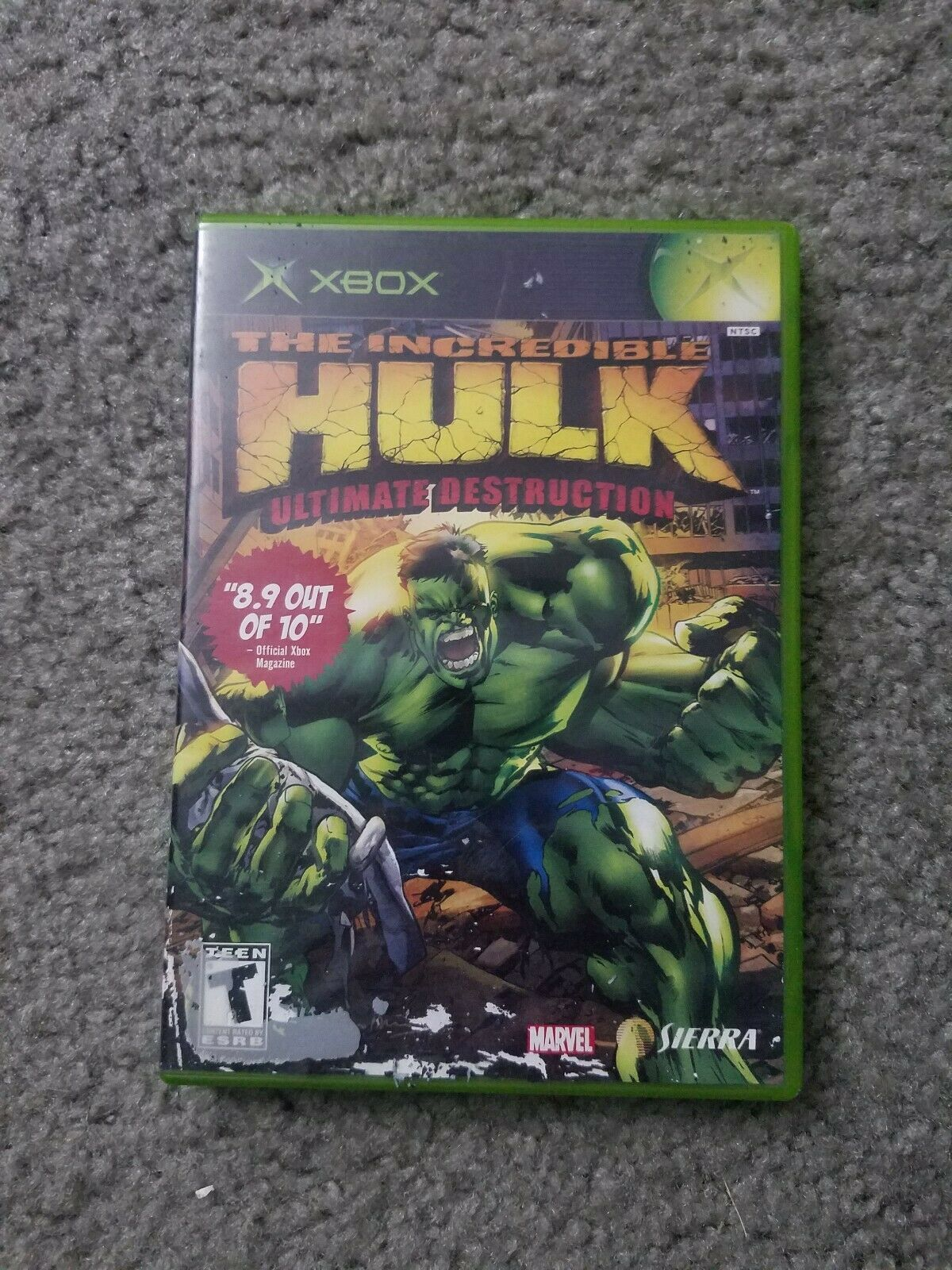 Incredible Hulk: Ultimate Destruction (Microsoft Xbox, 2005)