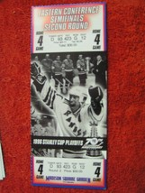 NY Rangers 1996 Stanley Cup Playoffs Semifinals 2nd Round Game 4 Ticket ... - $8.90