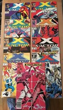 X-Factor 38 39 40 41 42 43 44 45 46 1986 Marvel Comic Book Lot VF/VF Con... - $8.99