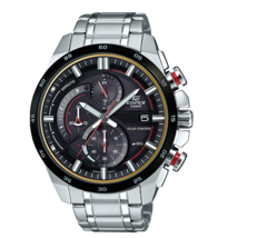 Casio Men's EQS600DB-1A4 Edifice Solar Power Chronograph Watch - $148.50