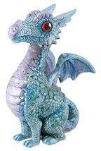 SUMMIT BY WHITE MOUNTAIN Blue Baby Dragon Figurine - £7.72 GBP