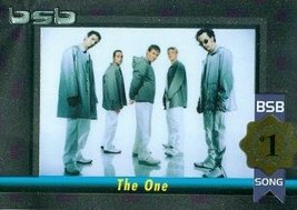 Backstreet Boys trading card (#1 Album/Song The One) 2000 Winterland #11... - $4.00