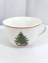 American Christmas Tree Cuthbertson Small White CoffeeTea Beverage Drink... - $11.29