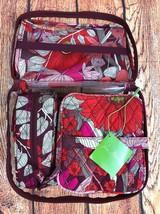NWT! Vera Bradley Travel Cosmetic Set Bohemian Blooms - 4 pc.