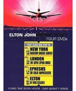 Elton John - Dream Ticket (DVD, 2005, 4-Disc Set) - $28.99