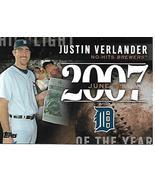Baseball Card- Justin Verlander 2015 Topps H-29 - $1.00