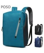 POSO® Backpack Laptop Waterproof Notebook Bag Packsack Travel Ati-theft ... - $51.35