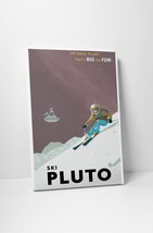 "Ski Pluto by Steve Thomas Gallery Wrapped Canvas 16""x20"" - $44.50"