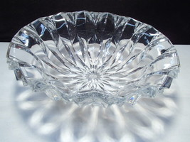 Huge J. G. Durand Crystal Center Bowl in Orig. Box ~~~ Calliope ~~ A Beauty - $27.95
