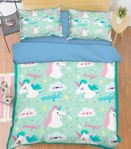 3D Magic Animal Bed Pillowcases Quilt Duvet Cover Set Single Queen King Size AU - $90.04+