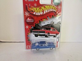 MATTEL HOT WHEELS DIECAST H4682 '67 DODGE CHARGER BLUE HOLIDAY RODS NEW ... - $9.75