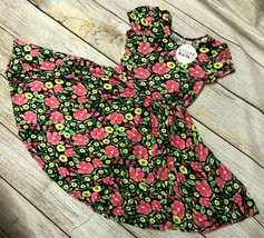 NWT Dot Dot Smile CUP Short SLEEVE Twirly Dress Summer Knit Girl Kids