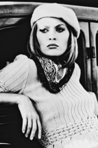 Faye Dunaway Bonnie and Clyde B&W Poster By Car 18x24 Poster - $23.99
