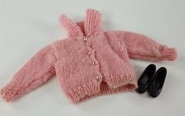 Skipper 1907 School Days 1964 Pink Sweater Black Flats Barbie Original C... - $14.84