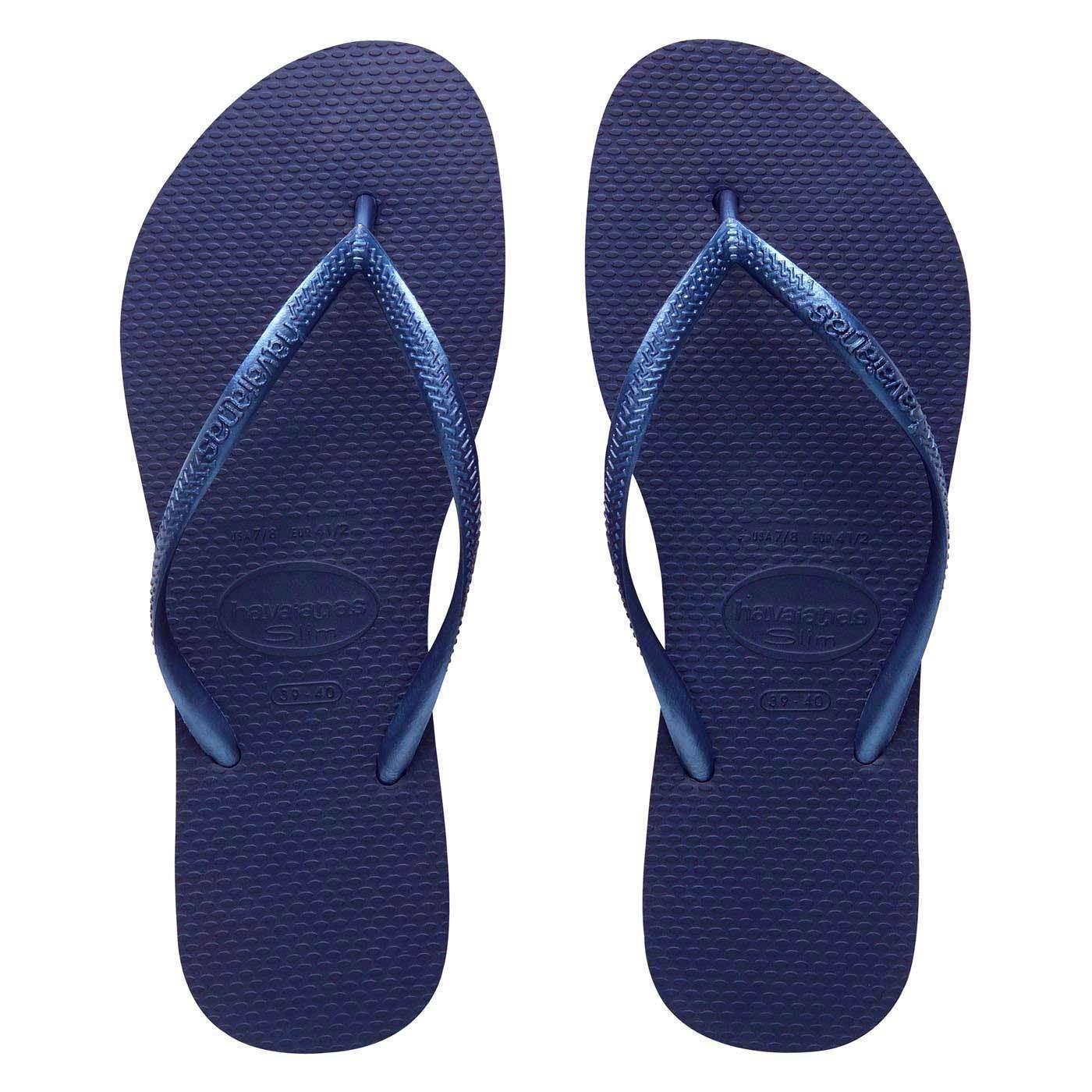f55f1b2a425a Havaianas Slim Women Flip Flops Blue 39-40 BR   9-10 US   41-42 E -  22.11