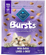 Blue Buffalo Bursts Crunchy Cat Treats - $8.99+