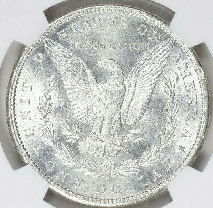 1881-S Morgan Silver Dollar - NGC MS-64 Star - Mint State 64 Star - Nice Coin image 4