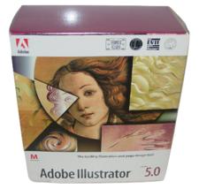 Adobe Illustrator 5.0 Floppy Disks & Books Full Version Software for App... - $85.00