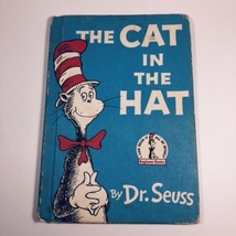 VINTAGE DR SEUSS CAT IN THE HAT BOOK 1957 - $9.90