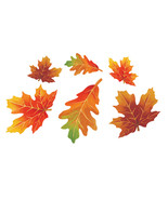 Leaves Cutout Foil Assortment/Case of 144 - $85.44 CAD