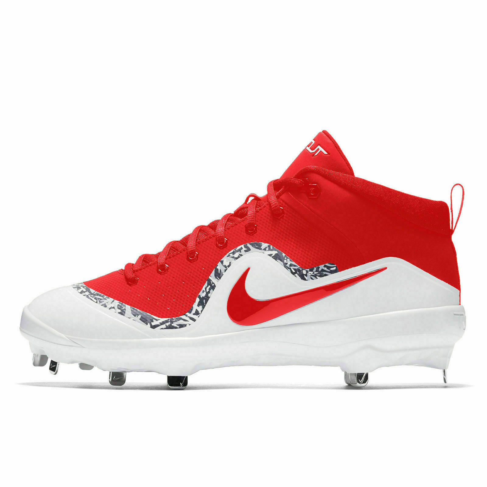 info for 017dd 0f521 57. 57. Previous. Nike Mens Force Air Trout 4 Pro Metal Mid 11.5 Red Baseball  Cleats 917920 668