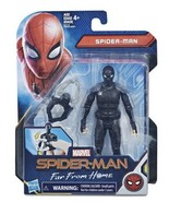 """Marvel Spider-Man Far From Home Black Stealth Suit with Claw 6"""" Action F... - $11.87"""
