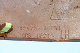 03-07 Lexus GX470 Dash Air Heater A/C Vent Grill Wood Trim Panel Driver Left LH image 6