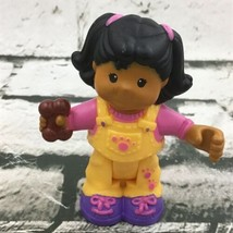Fisher Price Little People Pet Shop Mia Replacement Figure Hinged Toy  - $7.91