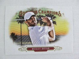 Wesley Bryan Golf 2018 Goodwin Champions Upper Deck Card 77 - $0.98