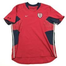 Nike Womens Soccer Jersey Size M Medium Red Dri-Fit 9 DIFIORE USWNT USA ... - $19.13
