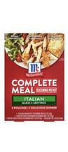 (1) McCormick Italian Dinner Complete Meals, 1.54 oz - $14.84