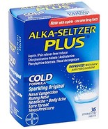 Alka-Seltzer Plus Cold Tablets - MS75750 (216) - $59.73