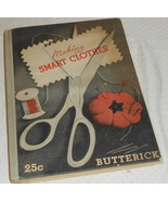 MAKING SMART CLOTHES BUTTERICK EASY BUIDE TO EXPERT METHODS1934 IN USA &... - $5.99
