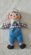"""ADORABLE LITTLE HANDS 9"""" TOY WORKS FLANNED RAGGEDY ANDY DOLL, KAPOK PLAS... - $4.94"""