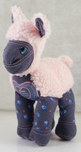 SWEET DENIM Friends Pink LAMB Plush Toy 1989 Those Characters from Cleve... - $21.99