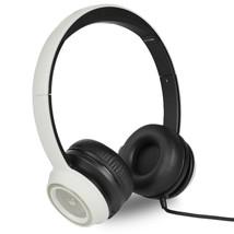 Monster N-Tune High Performance On-Ear Headphones w/3.5mm Plug(White/Black) - $42.86